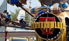 Tomorrowland Sign and Astro Orbitor