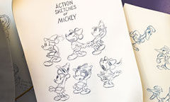 Disney Animation Sketches