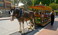 Horse-Drawn Streetcars, presented by National Car Rental