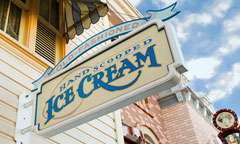 Gibson Girl Ice Cream Parlor Sign
