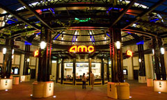 AMC Theatres at Night in Downtown Disney District