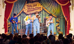 Perfomer with the Billy Hill & the Hillbillies Show