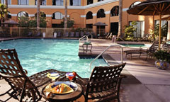 Pool Area of Crowne Plaza Anaheim Resort