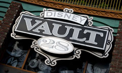 Disney Vault 28 Sign