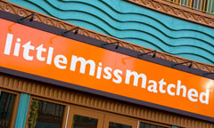 Sign for LittleMissMatched