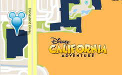 Disneyland HotelLocation
