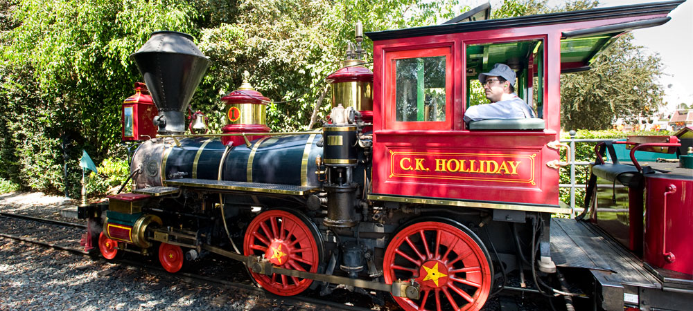 The Disneyland Railroad Train - C.K. Holliday
