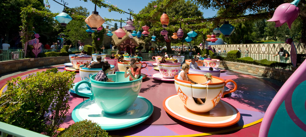 Teacups on The Mad Tea Party Ride