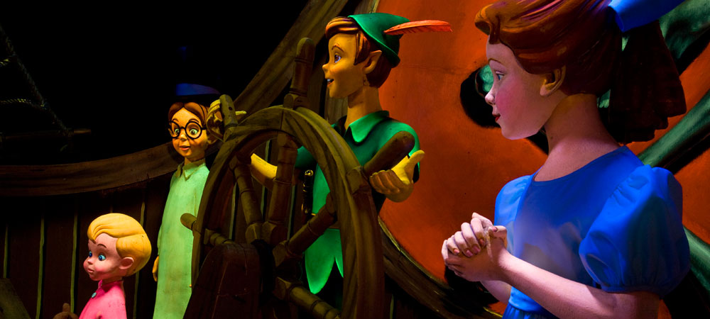 Characters from Peter Pan's Flight