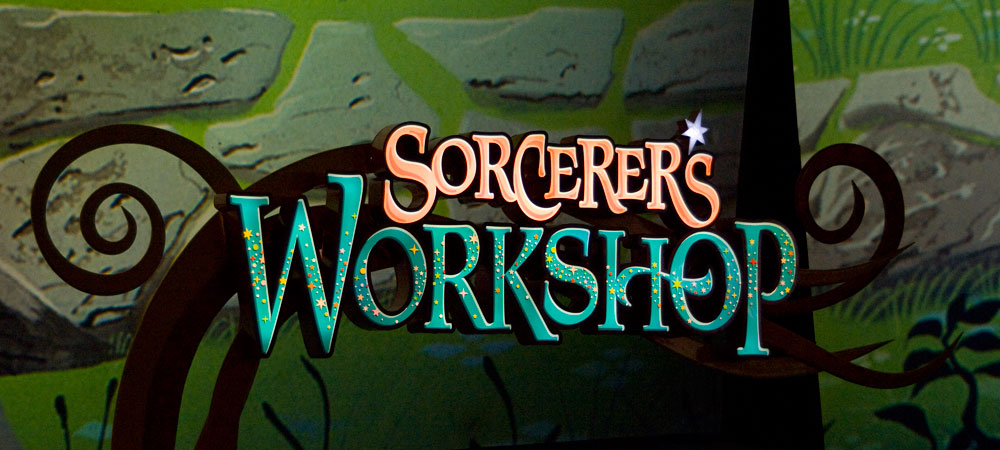 Disney Animation Sorcerer's Workshop