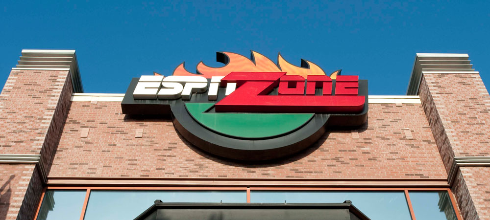ESPN Zone Sign