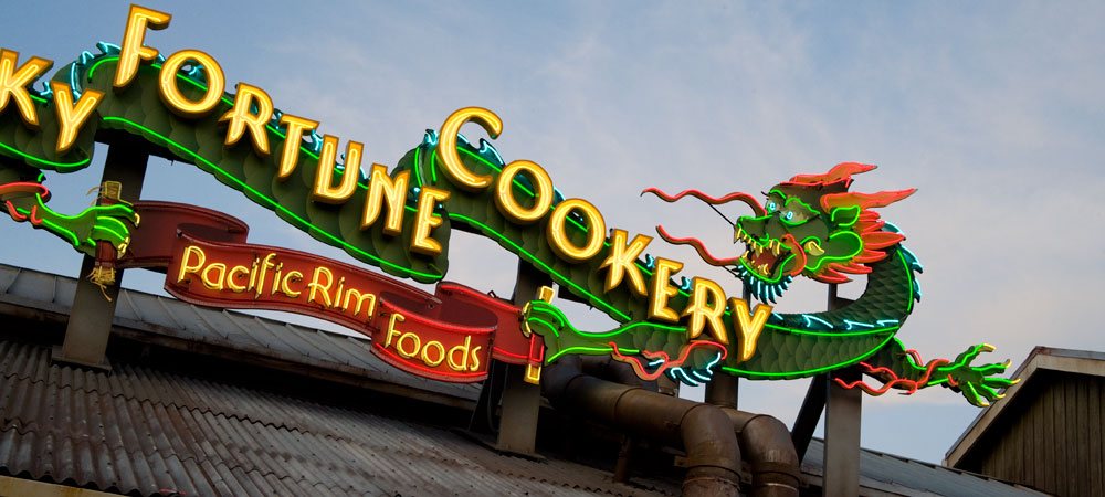 The Lucky Fortune Cookery Neon Sign