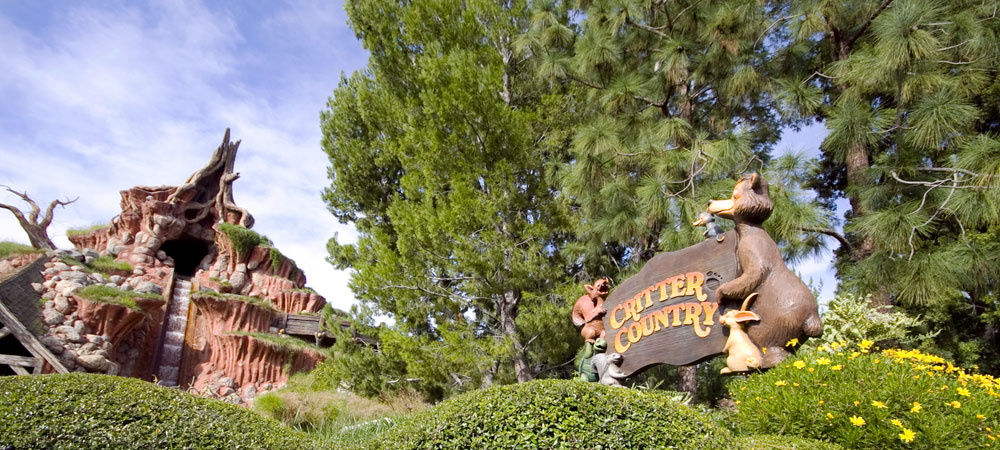 Sign for Critter Country