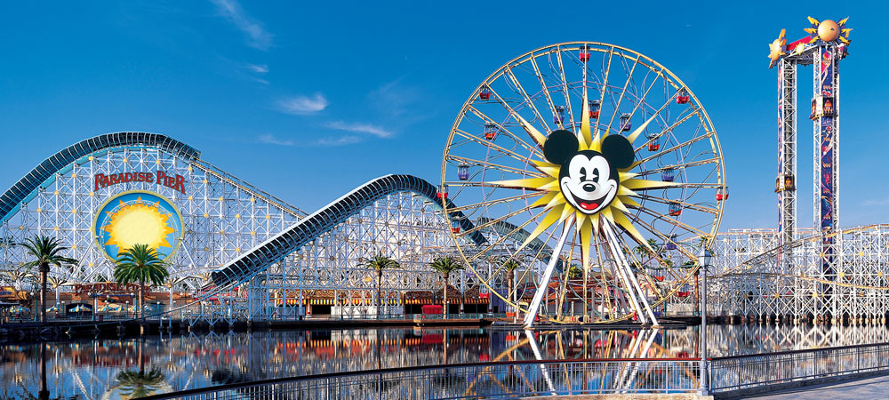 Mickey's Fun Wheel at Paradise Pier