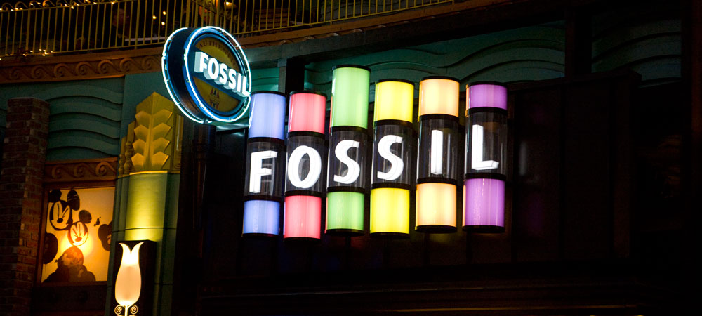 Signs for Fossil