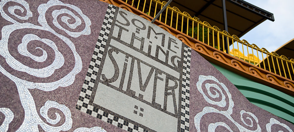 Sign for Something Silver