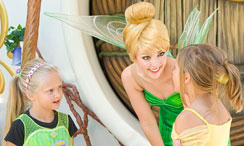 Tinker Bell and Girls